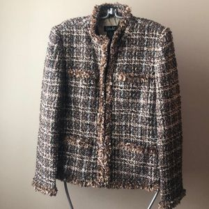 Beautiful Rafaella tweed boucle Jacket 14